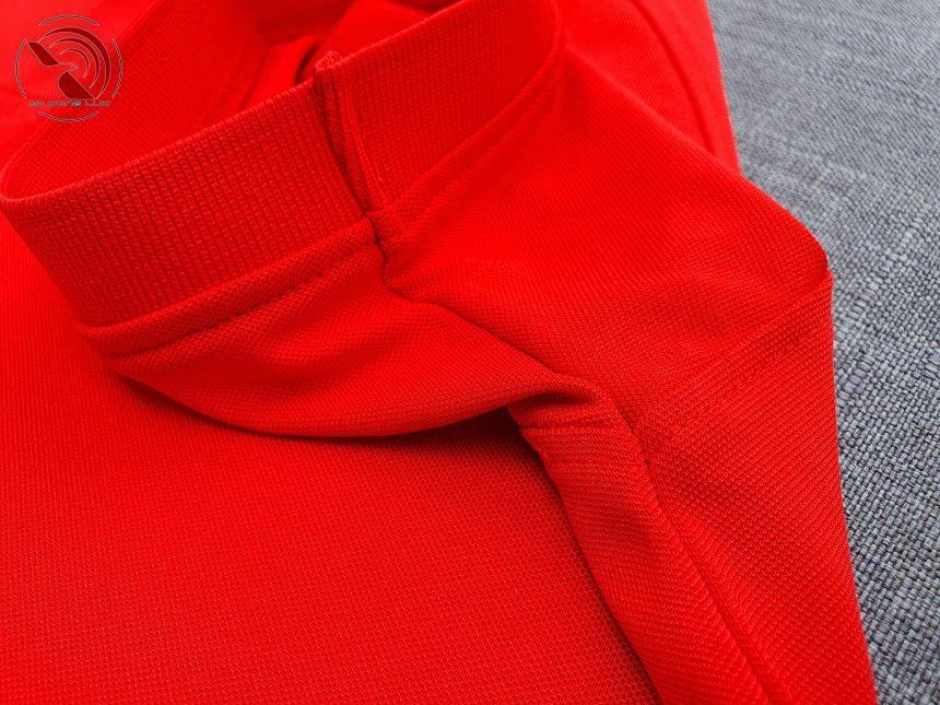 áo polo unisex đỏ tươi – aodongluc