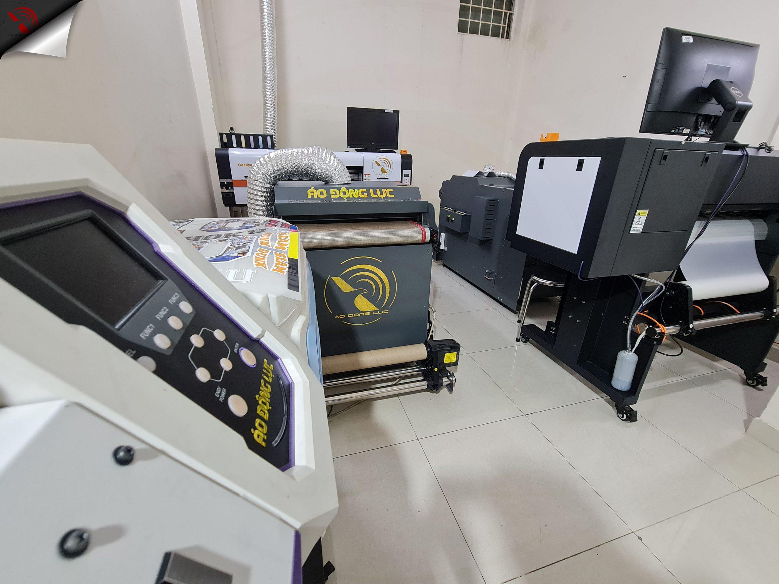 hệ thống máy móc thiết bị áo động lực
